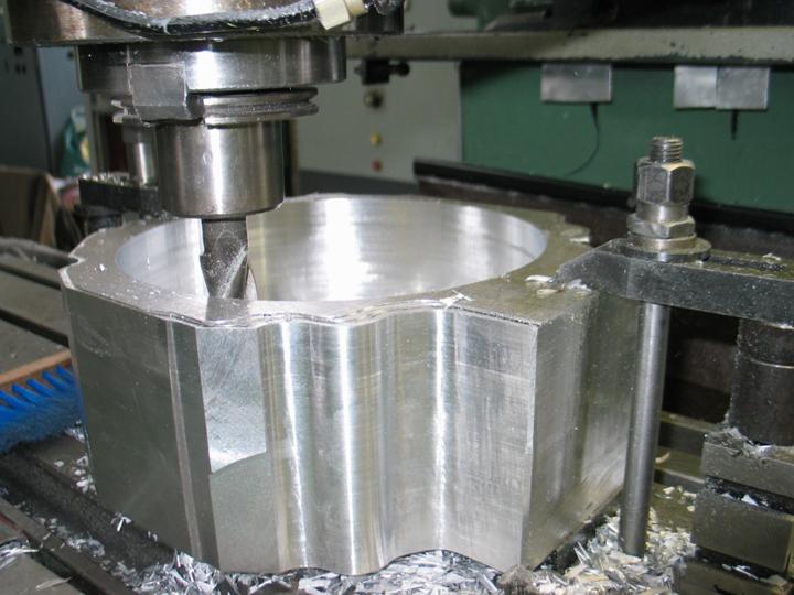 machining casing